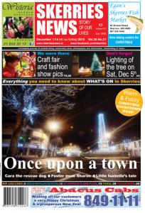 Dec 2015 Skerries News front page