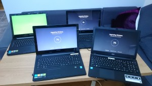 Some of the cccSkerries laptops.