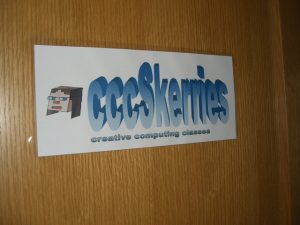 The door to the cccSkerries room first opened in July 2013.